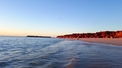 Beach sunset, Western Australia