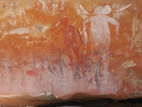 aboriginal rock art king edward river