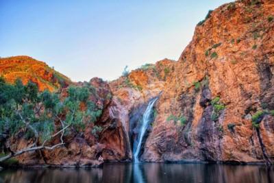 Waterfall in Outback Australia, WA