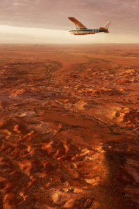 Title Painted Hills, Anna Creek Station, Wrightsair Scenic Flight Mandatory Credit South Australian Tourism Commission