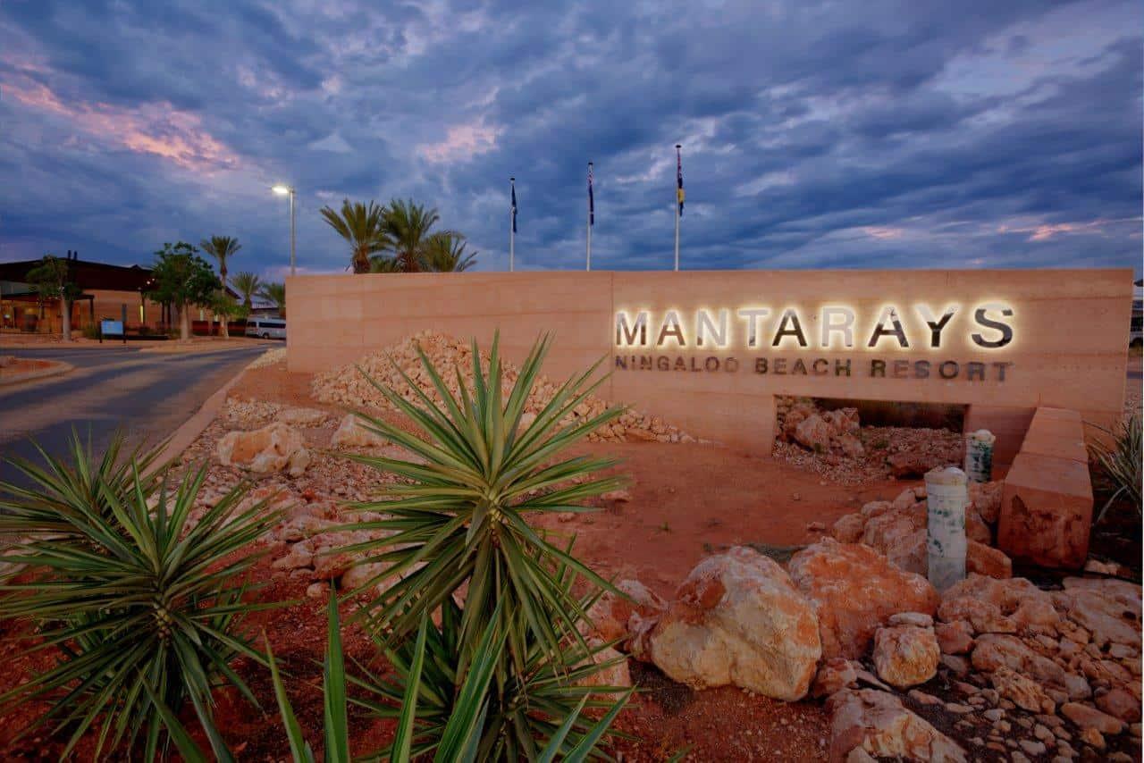 Mantarays Ningaloo Resort.RELAXING ACCOMMODATION IN EXMOUTH, WESTERN AUSTRALIA