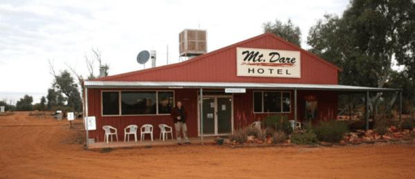 Mt Dare hotel