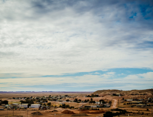 The Big Winch Lookout, Coober Pedy